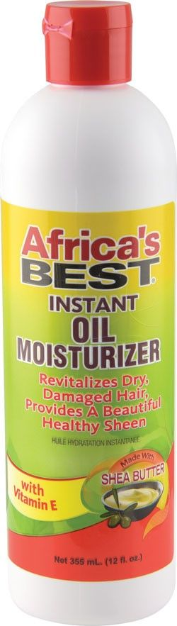 Africa's Best Instant Oil Moisturizer With Shea Butter 356 Ml