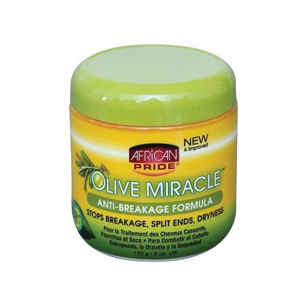 African Pride Olive Miracle Anti-Breakage Formula 170g