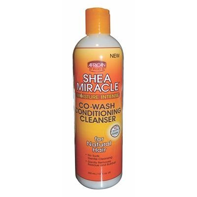 African Pride Shea Butter Miracle Co-Wash Conditioning Cleanser 12oz