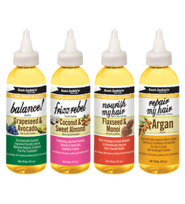 Aunt Jackie's Natural Growth Oil Blends 118ml