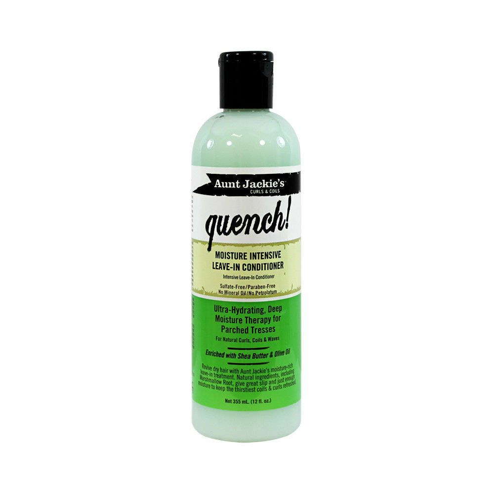 Aunt Jackie's Quench Moisture Intensive Leave In Conditioner 12oz