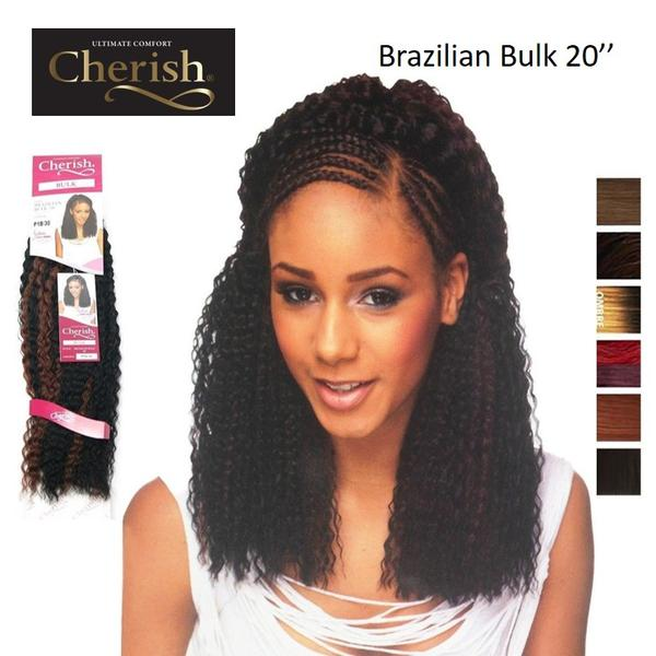 Cherish Brazilian Bulk 20'' Synthetic Hair Braids