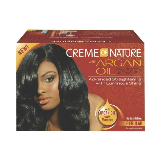 Creme of Nature Relaxer Kit With Argan Oil