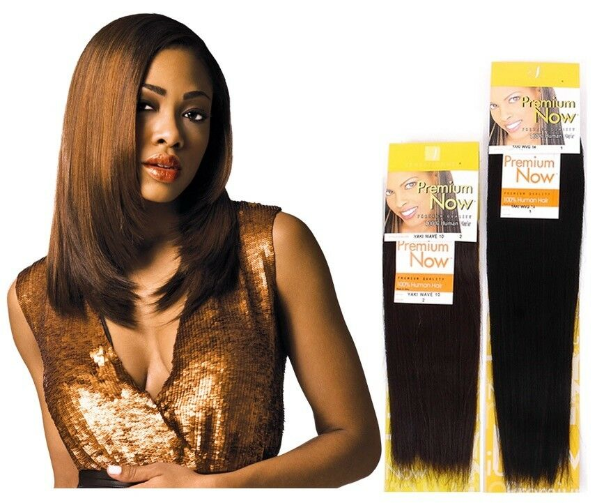 PREMIUM NOW - YAKI PLATINUM HUMAN HAIR WEAVE