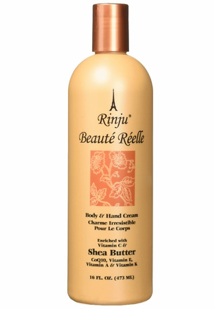 Rinju Beaute Reelle Body and Hand Lotion 16oz